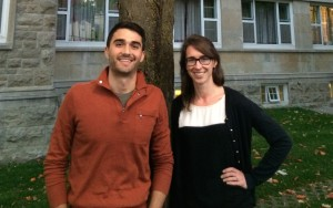 Dr. Stuart Douglas and Dr. Erin Brennan