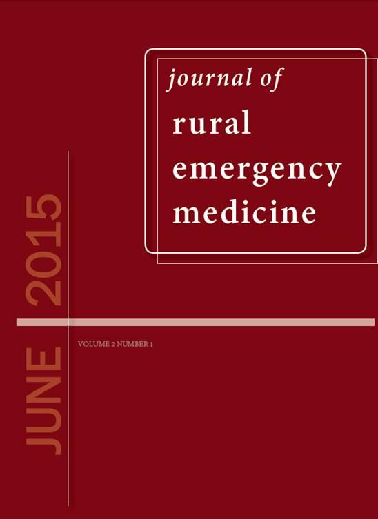 Journal of Rural Emergency Medicine: Issue#2