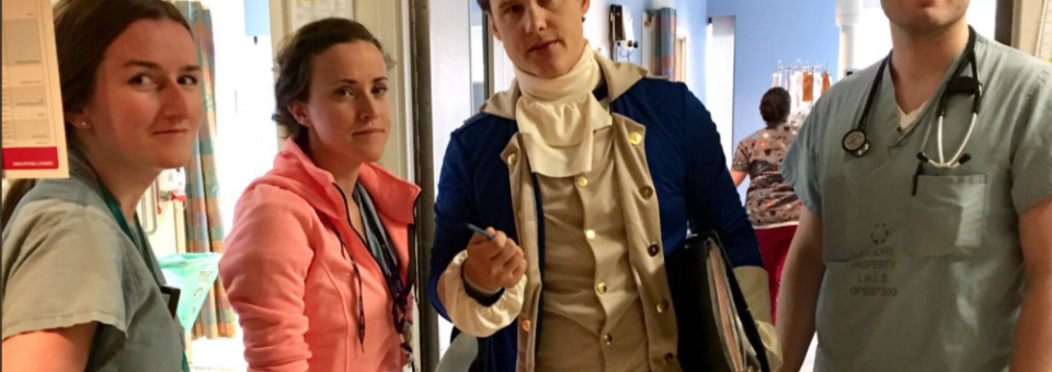 SGEM#200: Dr. Alexander Hamilton and Bloodletting for Camp Fever