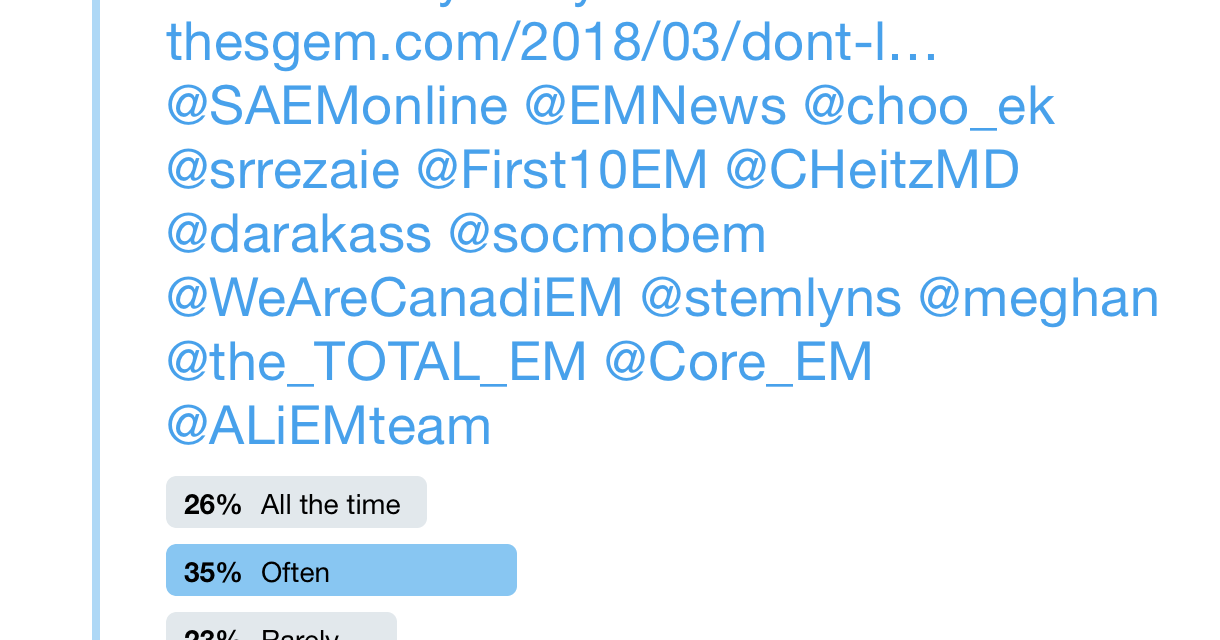 SGEM Twitter Poll #210