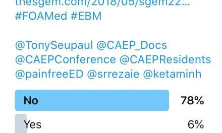 SGEM Twitter Poll #220