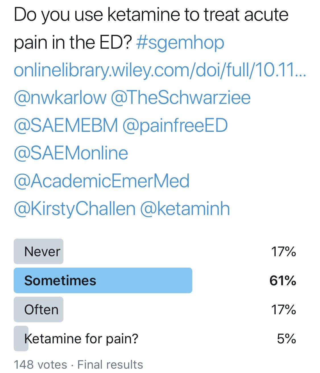 SGEM Twitter Poll #233