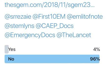 SGEM Twitter Poll #236
