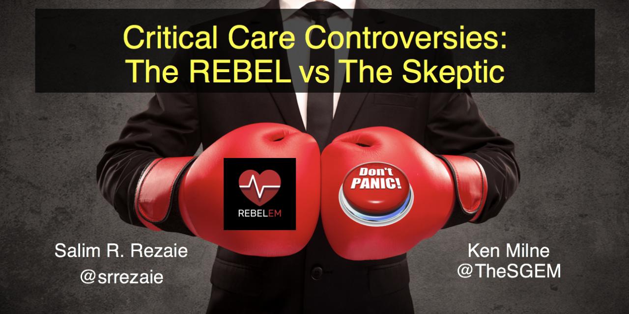 SGEM Xtra: The REBEL vs  The Skeptic – SMACC 2019 | The Skeptics