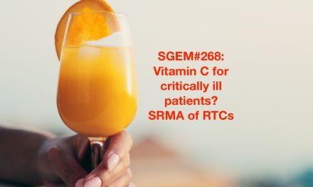SGEM#268: Vitamin C Not Ready for Graduation to Routine Use