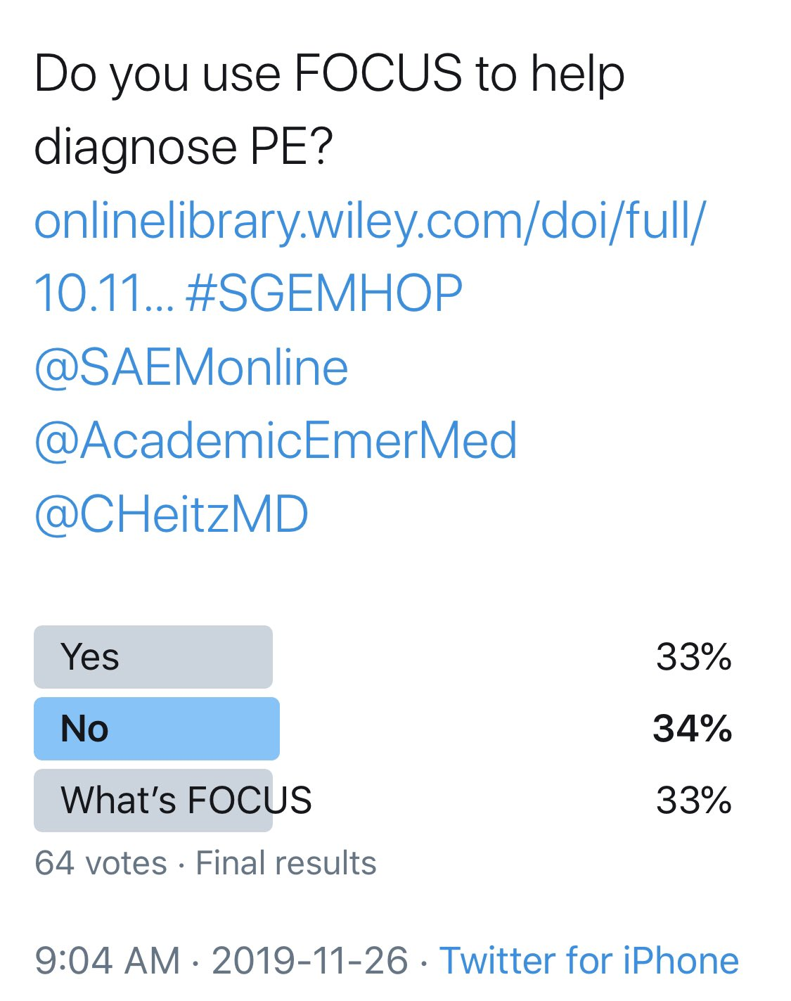 SGEM Twitter Poll #276