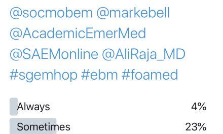 SGEM Twitter Poll #287