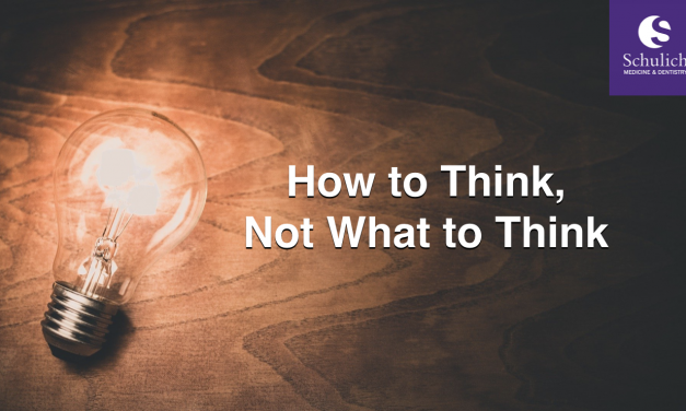 SGEM Xtra: How to Think, Not What to Think